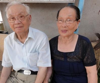 Maj-Inger Kim Phucs föräldrar