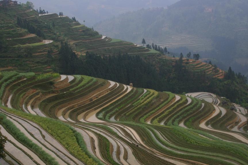 Stora tågresan Vandra i Kina 155