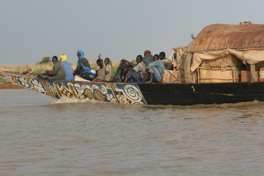 Jag reste till Mali2008